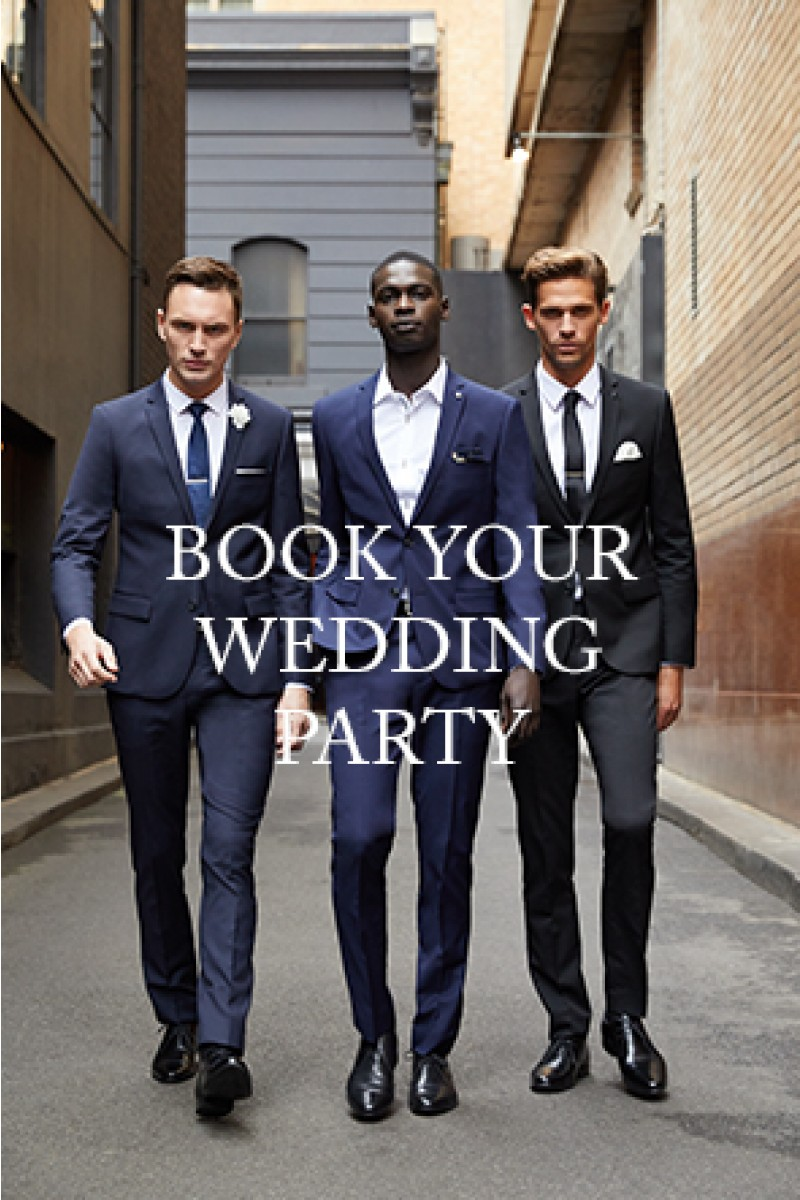 Book your wedding party
