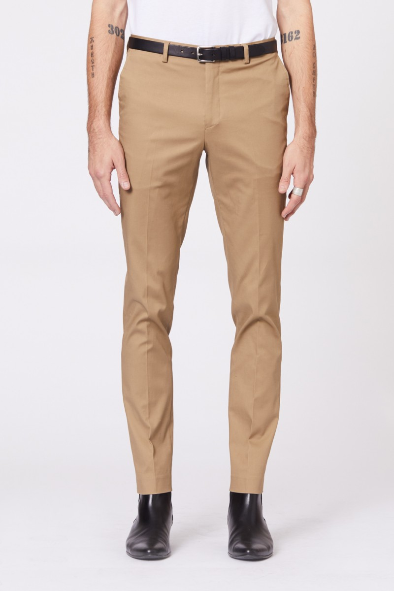 Taupe SS Dress Chino