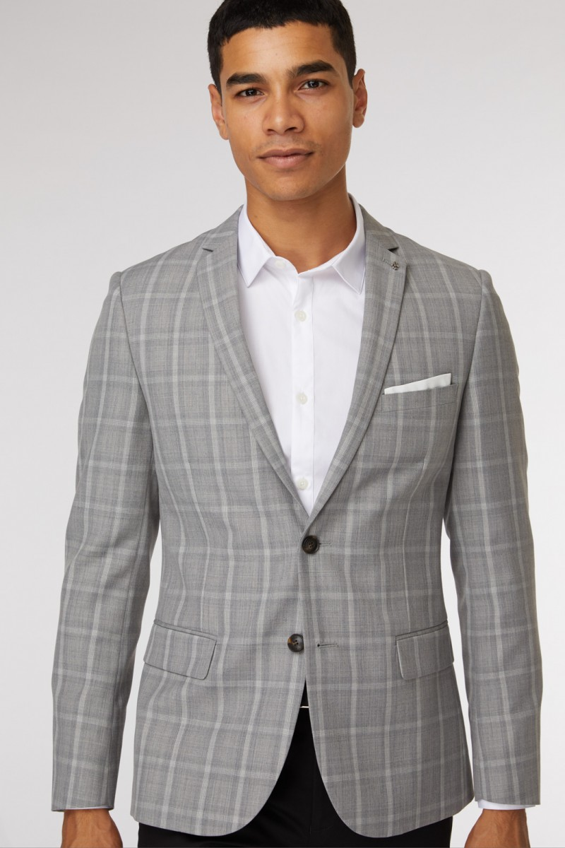 Abbey Check Blazer
