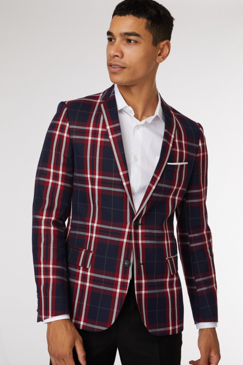 Sussex Check Blazer