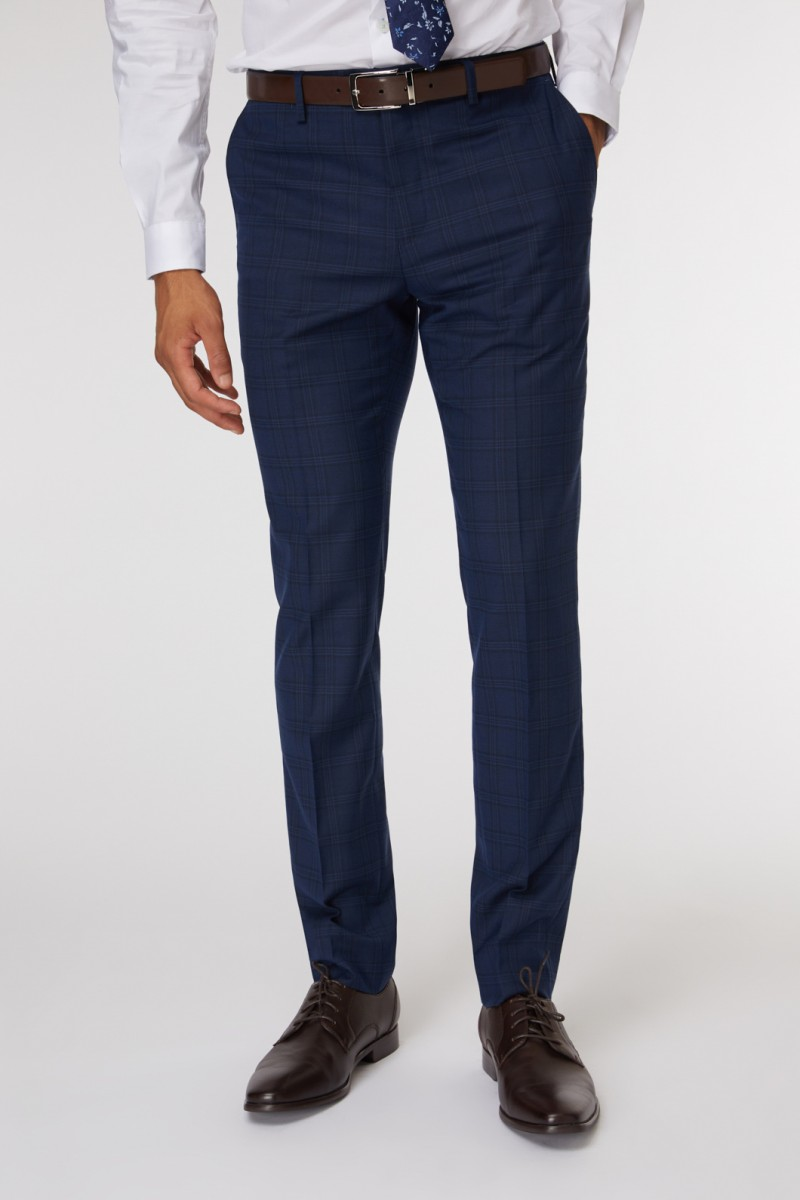 Lennon Check Suit Pant