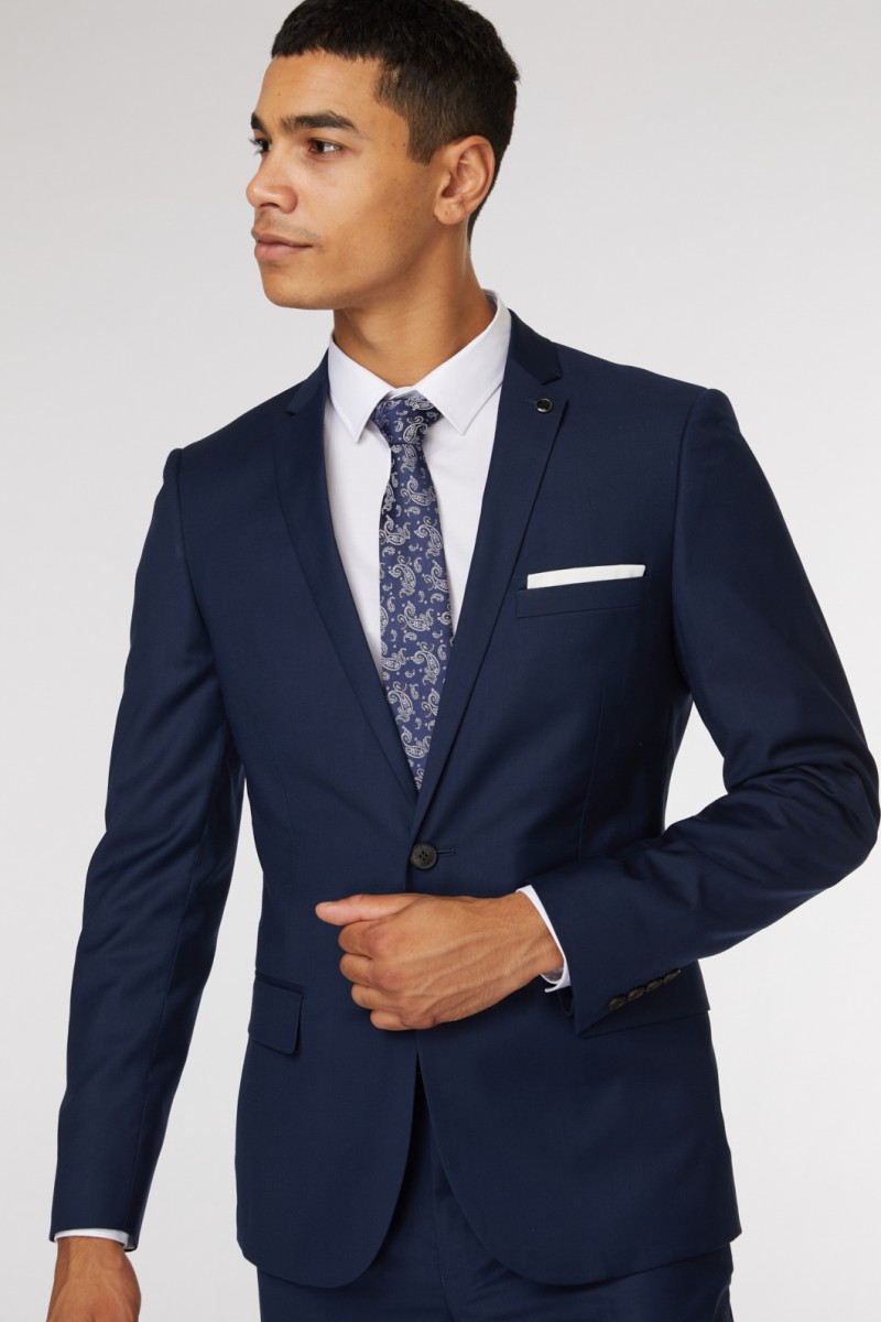 Royal Blue Suit Jacket