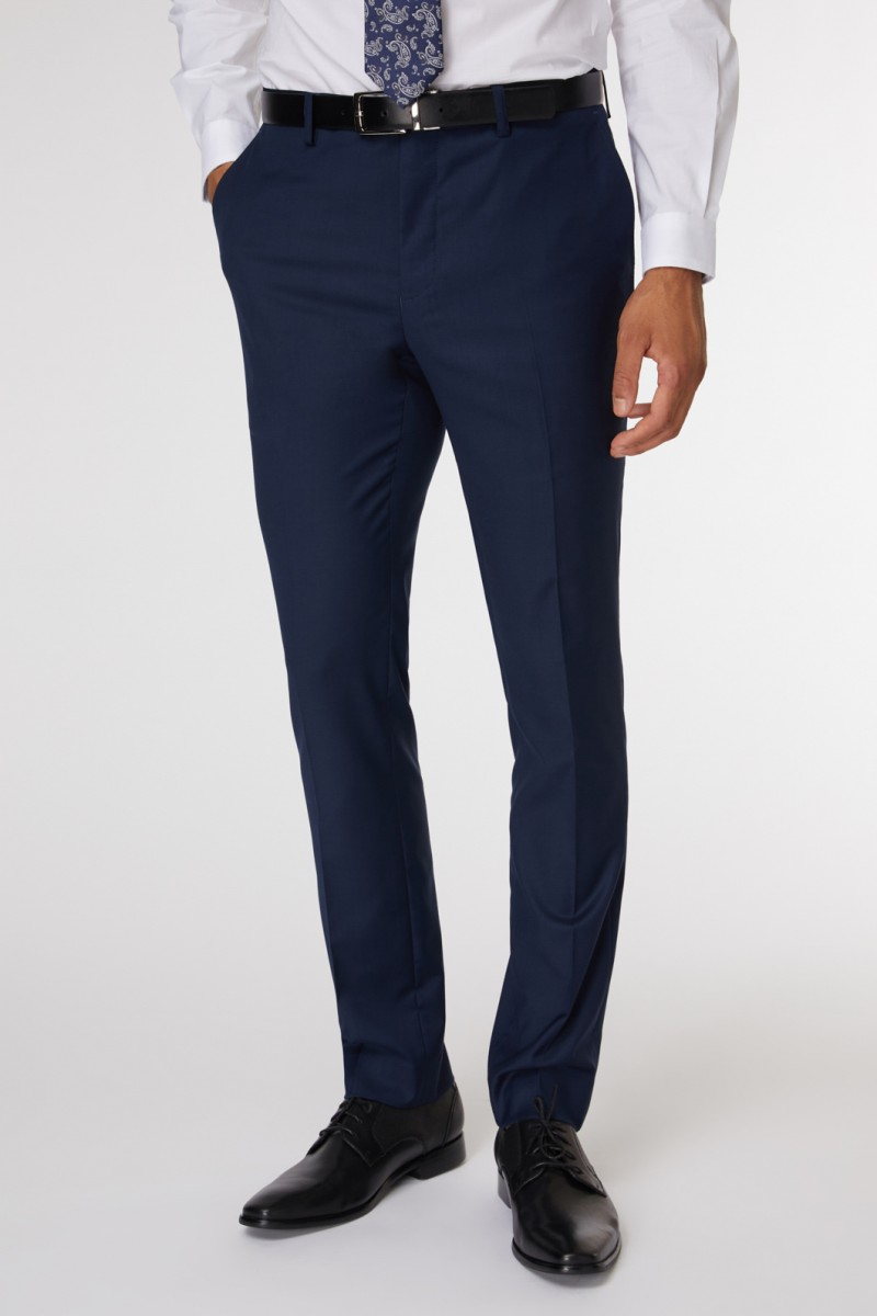 Royal Blue Suit Pant