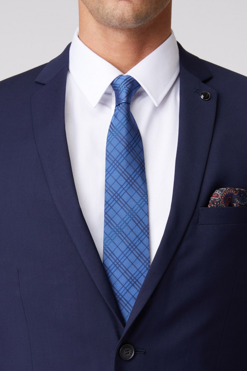 French Check Tie