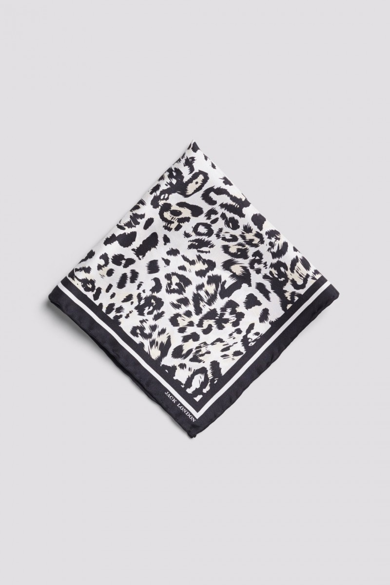Leopard Pocket Square