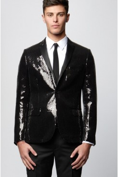 Square Sequin Jacket