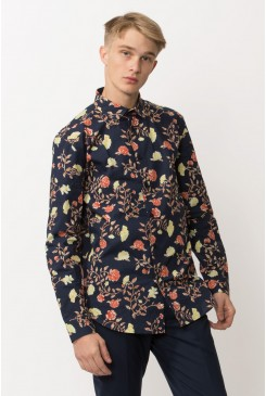 Medium Floral LS Shirt