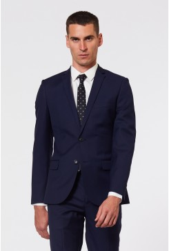 Dark Navy Suit Jacket