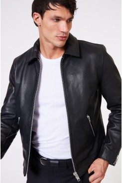 Clasher Leather Jacket