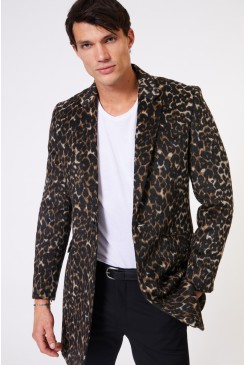 Leopard Top Coat