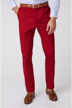 Crimson SS Dress Chino