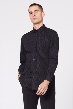 Alperton Black LS Shirt