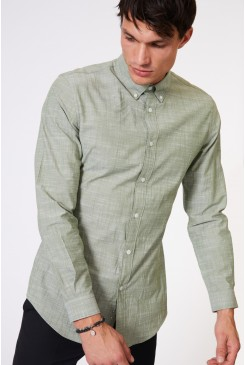Miles Button Down LS Shirt