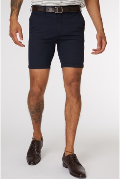Navy Les Short