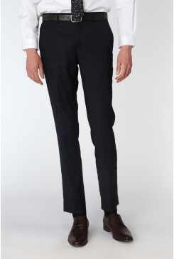 Navy Stretch Mod Suit Pant