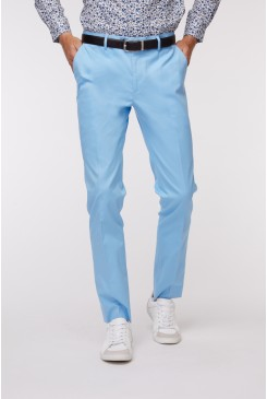 Sky Blue SS Dress Chino