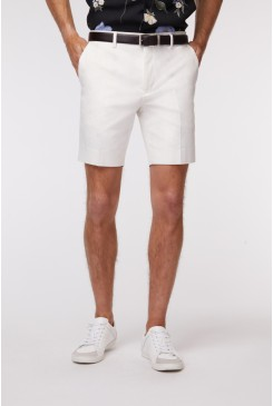 White SS Dress Short