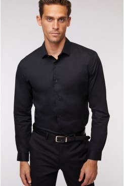 Stretch Cotton LS Shirt