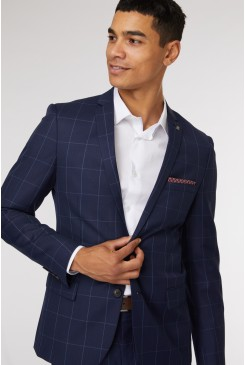 Harrow Check Suit Jacket