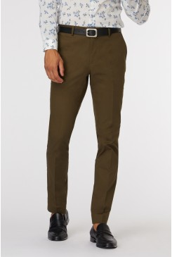 Khaki SS Dress Chino