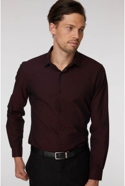Burgundy Flint Shirt