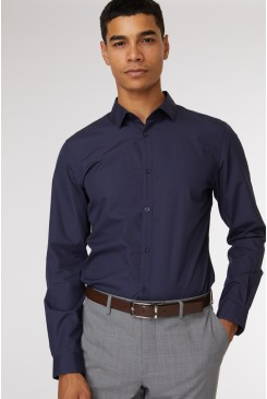 Navy Formal Shirt