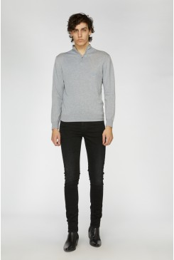 Grey Sussex Turtleneck