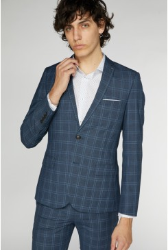 Richards Check Suit Jacket