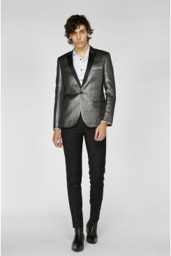 Metallic Cocktail Jacket