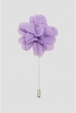 Lilac Flower Lapel Pin