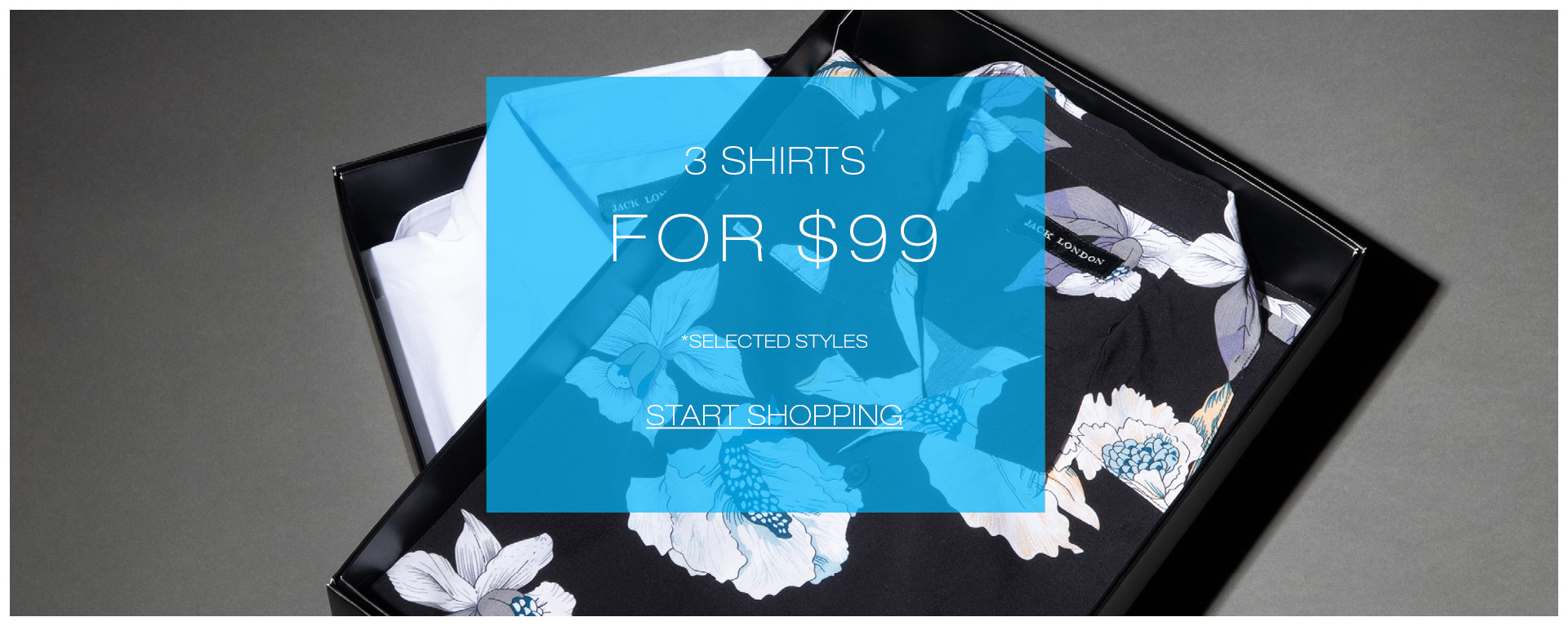3 shirts for $99